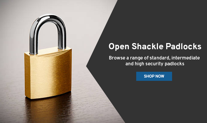 Open Shackle Padlocks Promo