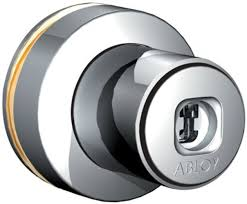 Abloy OF431 - 32mm push lock for glass