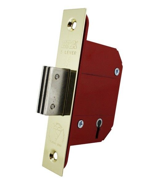 ERA Fortress 5 Lever BS Mortice Deadlock 261 & 361  only £10.90 - In Stock