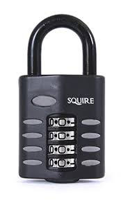 Squire Combination Padlocks