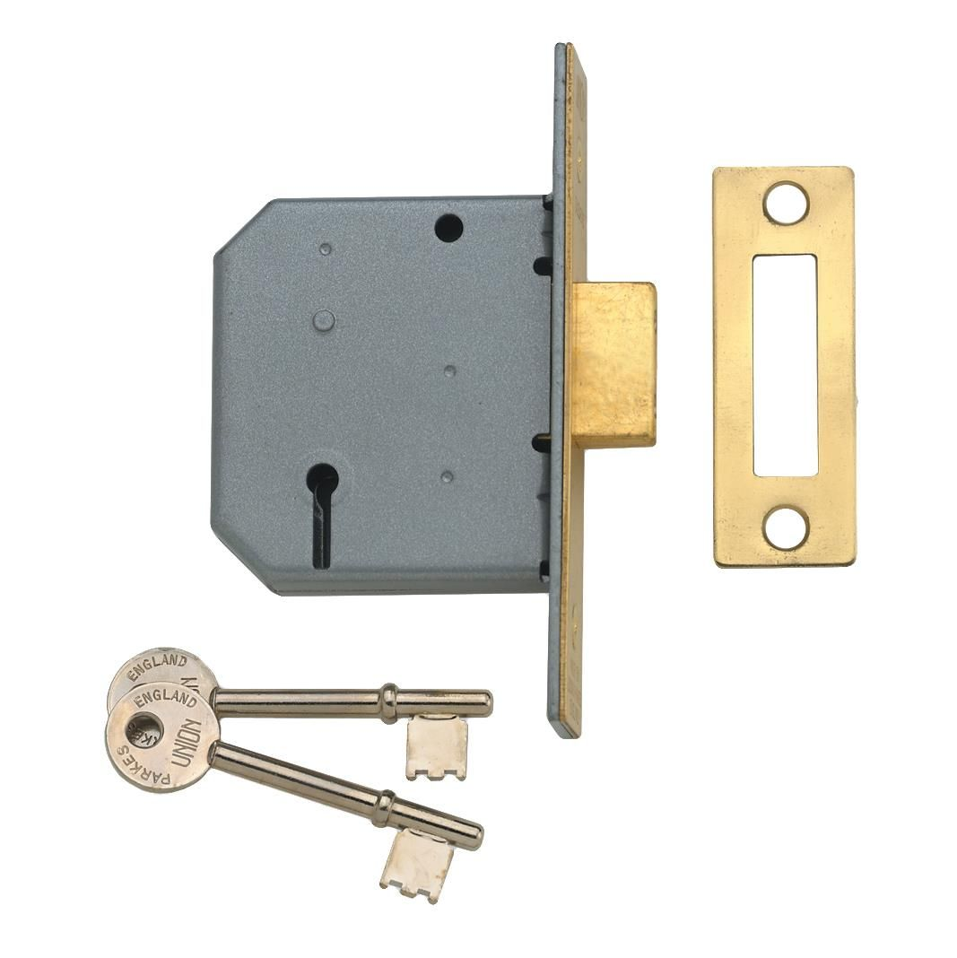 Union 2177 3 Lever Mortice Deadlock Only 163 14 20 In Stock